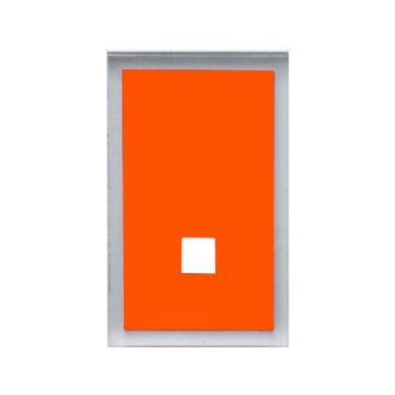 Gedy Maine Backplate Only x2 Orange 7805-67